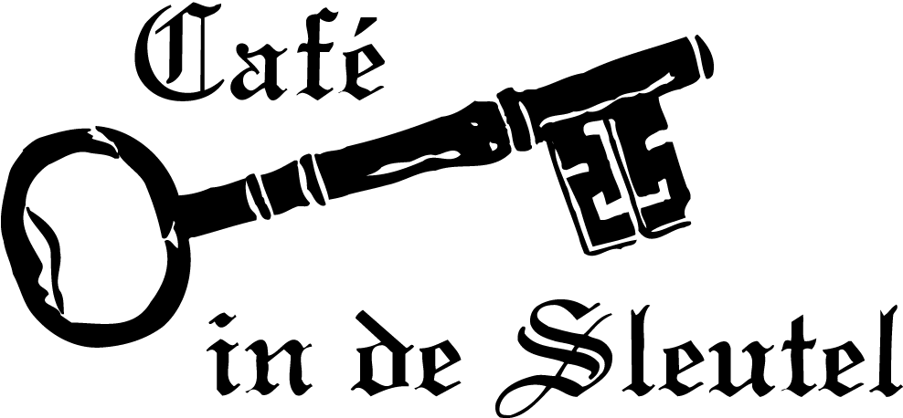 Cafe De Sleutel Logo
