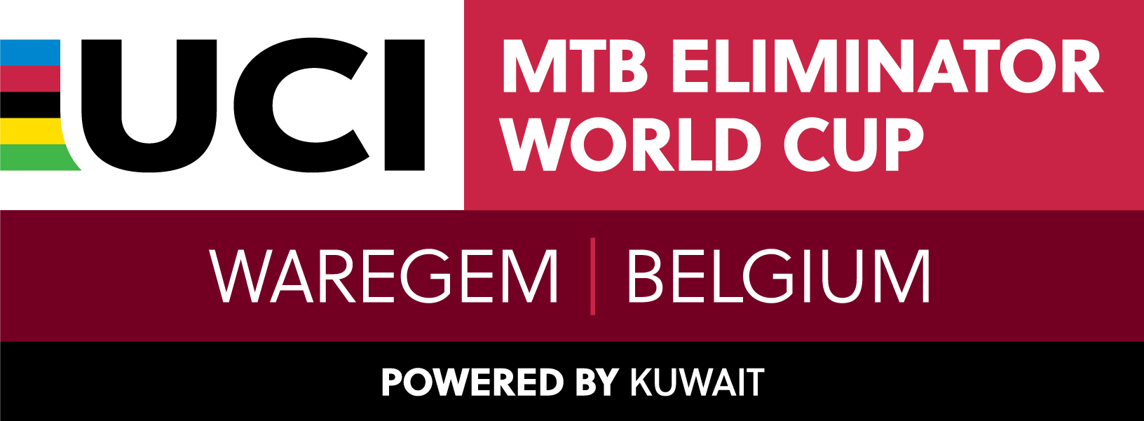 2020 UCI MTB WC XCE Belgium Waregem CMYK Stacked Outline