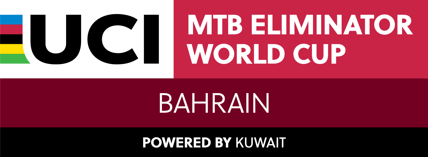 2021 UCI MTB XCE WCup Bahrain CMYK Stacked